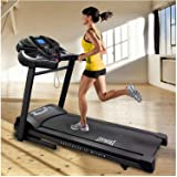 Treadmill. Heavy-Duty Everlast EV9.0 3.5 CHP Folding Treadmill with Built-in Speakers with MP3 Compatibility and 24 Preset Workout Programs
