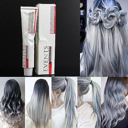bureze luz gris pelo color crema estilo DIY de moda para ...