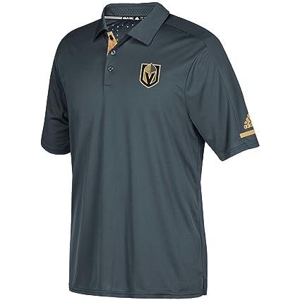 985d22249b0 Las Vegas Golden Knights Adidas NHL Men's 2017 Authentic Locker Room Polo  Shirt