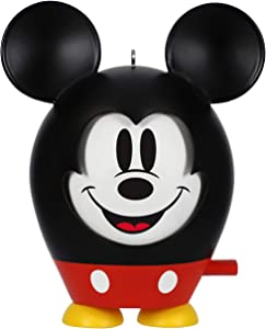Hallmark Keepsake Christmas 2019 Year Dated Disney Mouse Ornament, Mickey Face to Face