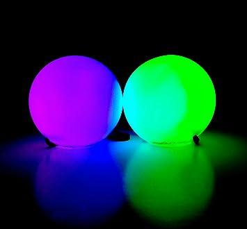 Amazon glofx led poi balls 9 mode flow light up rave balls glofx led poi balls 9 mode flow light up rave balls negle Images