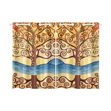 Delicieux Image Unavailable. Image Not Available For. Color: ADEDIY Custom Kitchen  Curtains ...
