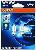 OSRAM DIADEM CHROME Luz de intermitencia WY5W 2827DC-02B doble vida en blister doble
