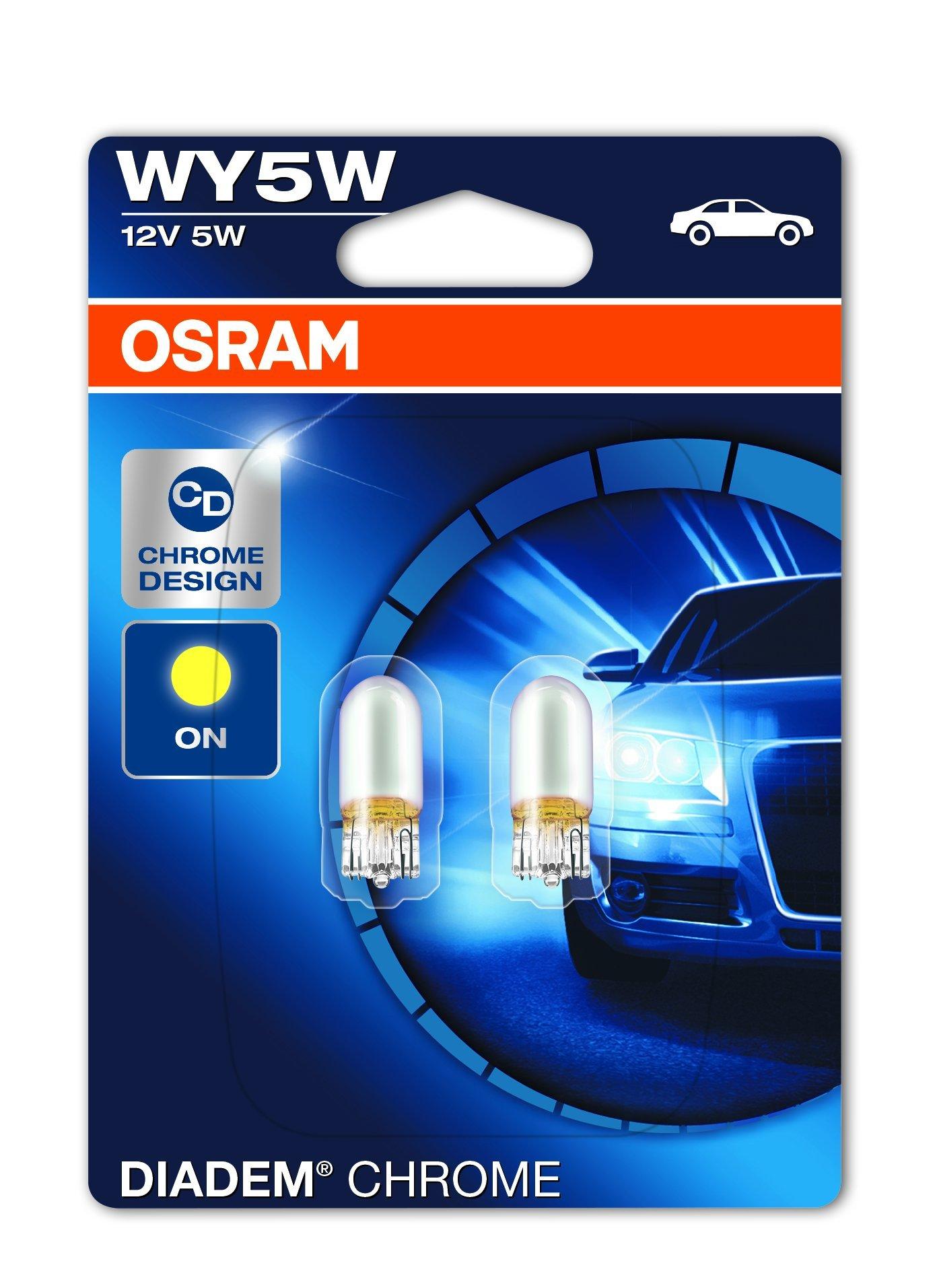 OSRAM DIADEM CHROME Luz de intermitencia WY5W 2827DC-02B doble vida en blister doble product