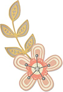 Sizzix 660869 Intricate Garden Flowers Thinlits Die Set by Debi Potter (5 Pack)