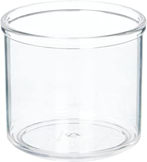 Winco CJ-7P Plastic Condiment Jar, 7-Ounce, Pack of 12