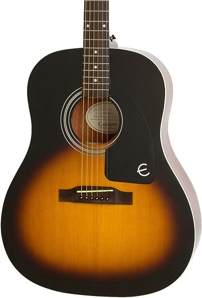 Epiphone Ltd. Ed. aj-100 guitarra acústica Vintage Sunburst