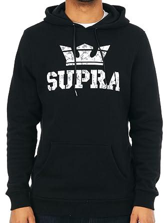 Supra Black Above Hoody  Supra  Amazon.co.uk  Clothing 94f3bada0
