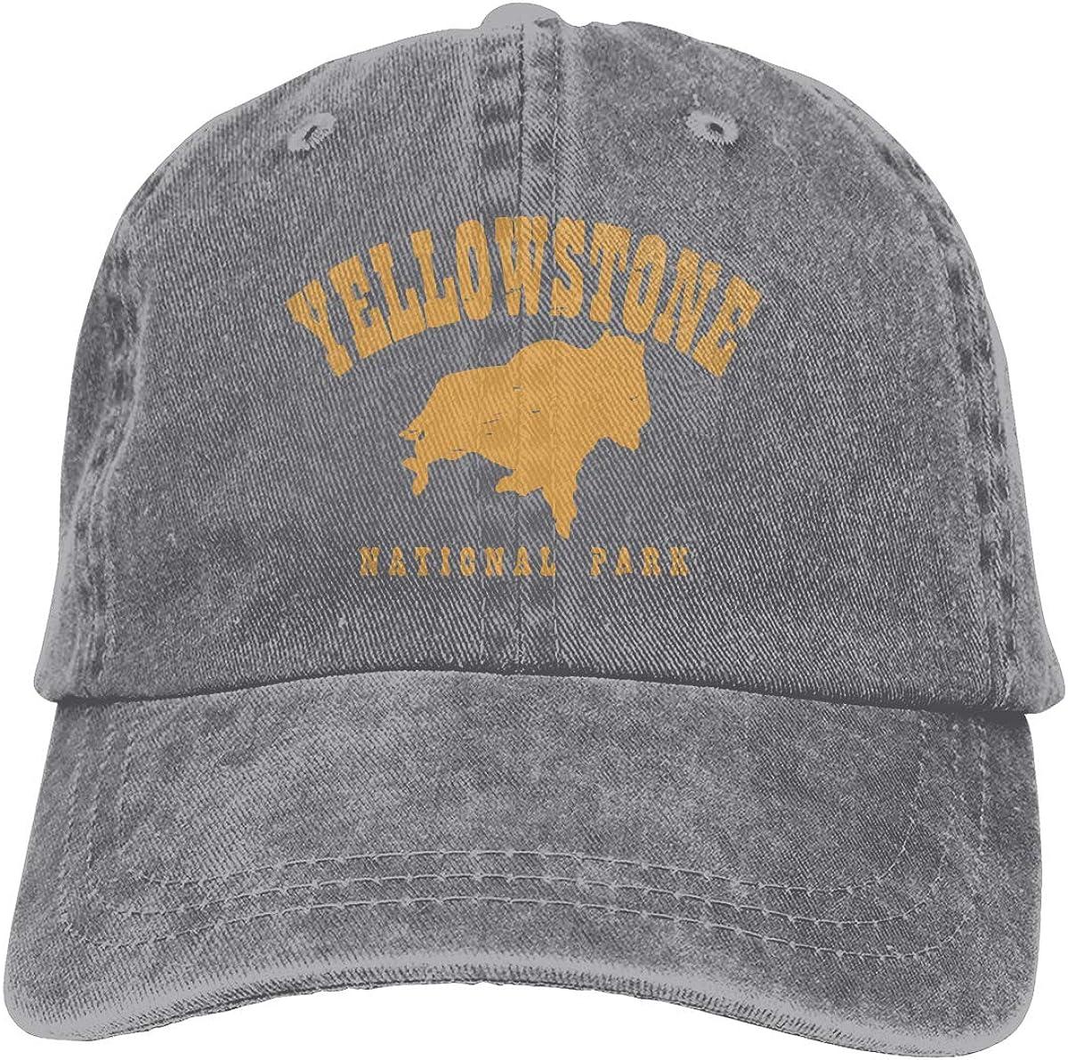 Yosemite National Park Baseball Hats Mans Women Adjustable Mesh Trucker Flat Caps