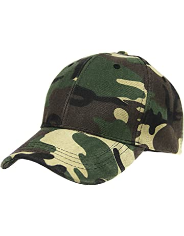 e398cb4a Unisex Adjustable Baseball Hat UV Protection Cotton Sun Hats Breathable  Camouflage Outdoor Hat for Sports Camping