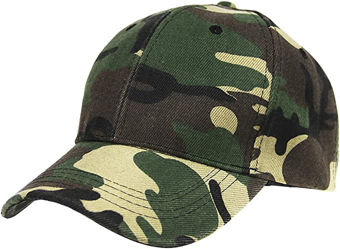 Para mujer para hombre gorro de béisbol al aire libre camuflaje Camo gorra de béisbol gorro de sol protección militar Gorra Ajustable Sombrero, Verde(Military Green): Amazon.es: Deportes y aire libre