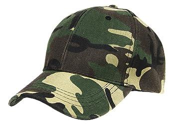 Mens Boys Camouflage Baseball Cap Sun Protection Large Visor Summer Sun Hats  Headwear Breathable Outdoor Sports ef441f55eb89
