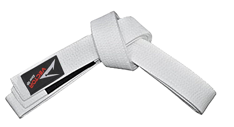 Vector Sports Kids Brazilian Jiu Jitsu BJJ Martial Arts Belt 100% Cotton by