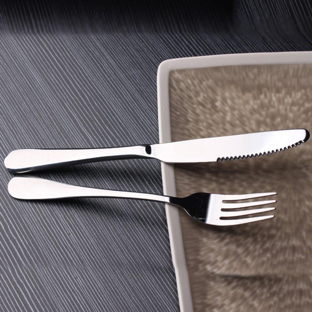 テーブルウェアのセット、食器/カトラリー/テーブルアクセサリー/Cutlery/カトラリーボックス/ステーキ皿/ポータブルUtensils RANGYWR  A B07193T5CJ