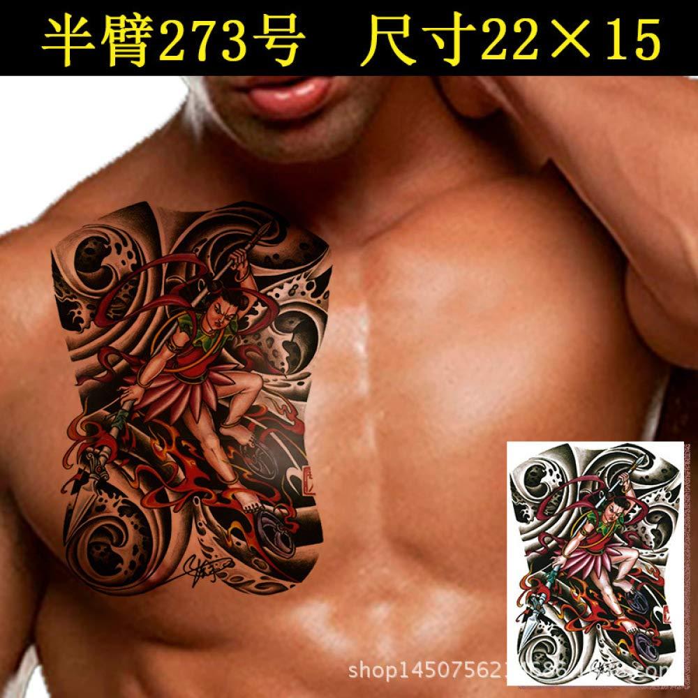 Handaxian 3 unids Impermeable Pegatinas de Tatuaje Masculino de ...