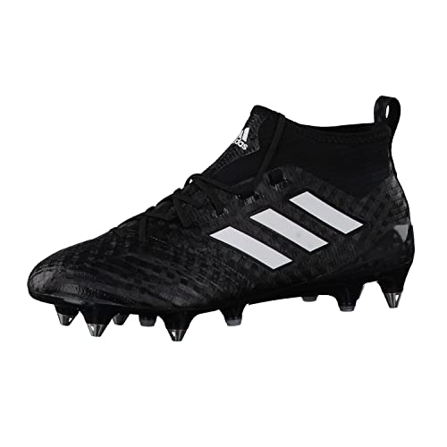 Bota de Fútbol Adidas Ace 17.1 Primeknit SG Core Black-White-Night Metallic: Amazon.es: Zapatos y complementos