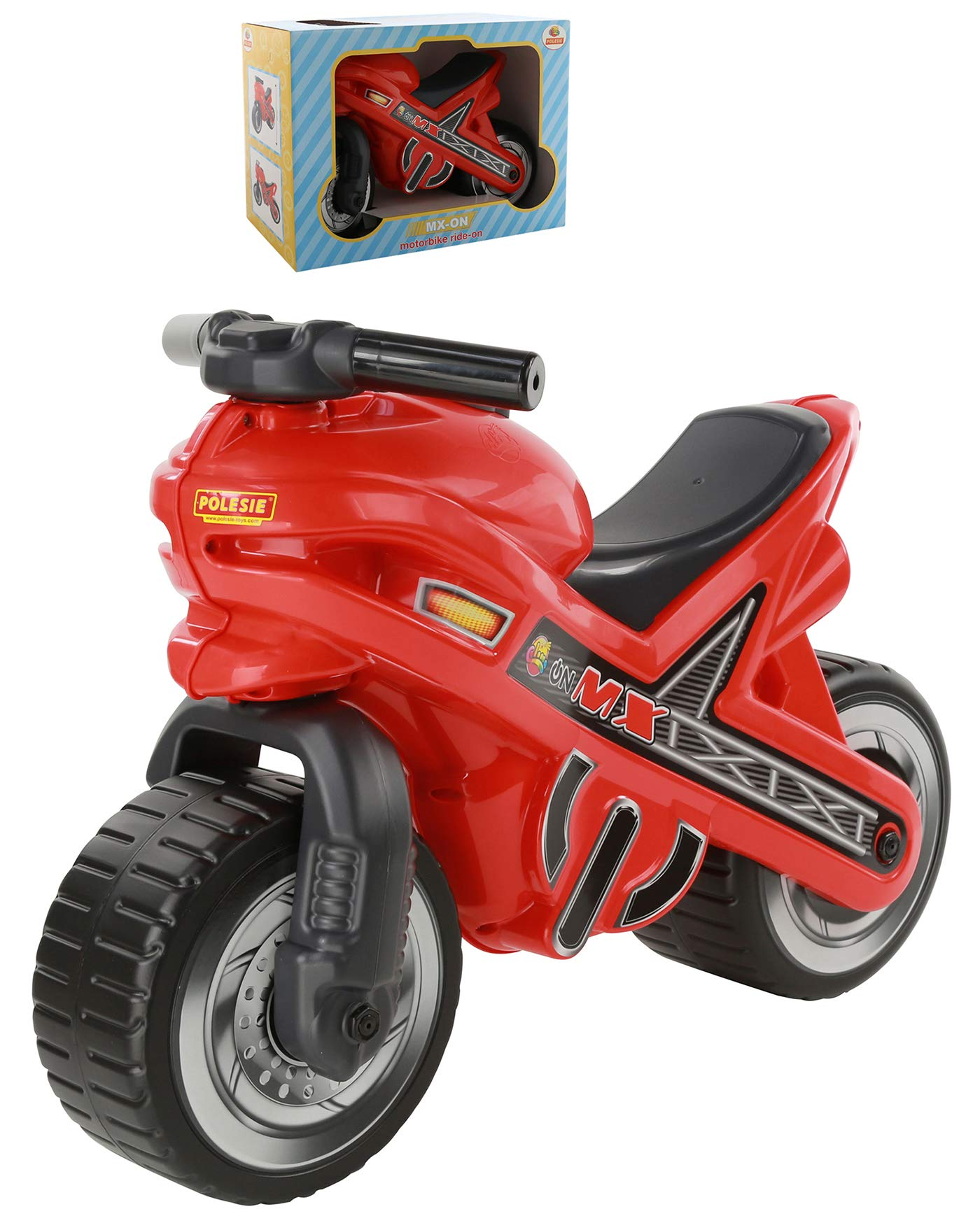 Polesie 67180 Mx Motorbike (Box) - Tricycles and Ride-Ons, Multi Colour