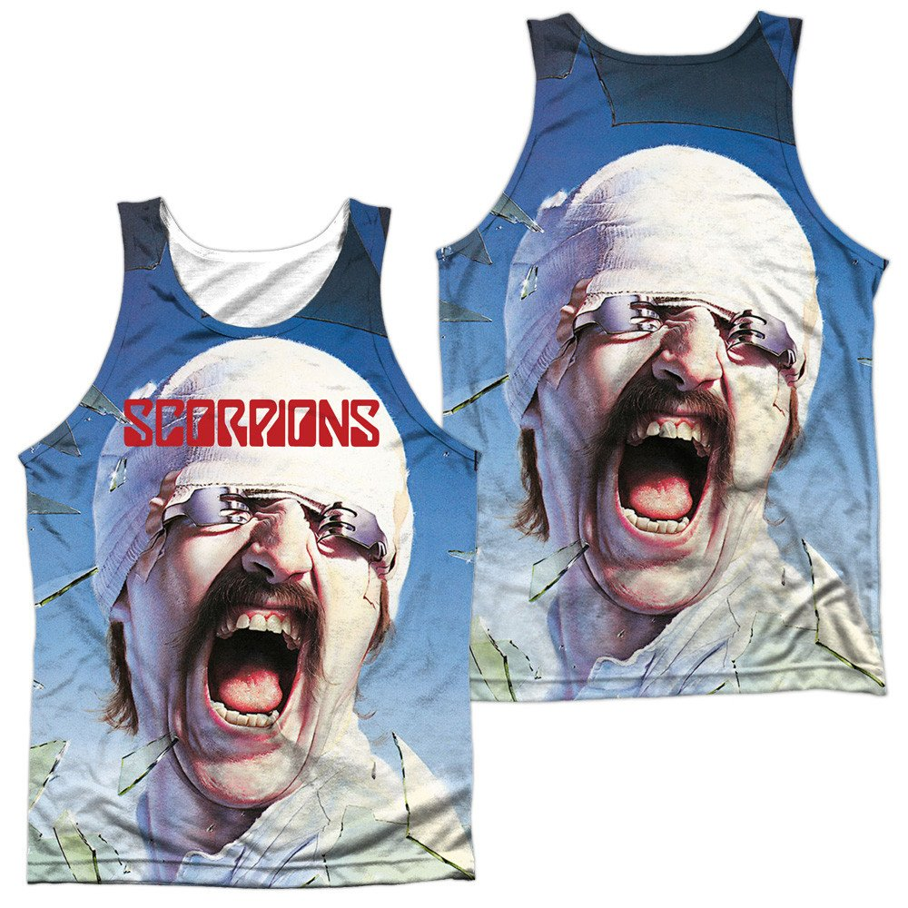 Scorpions Blackout Adult Tank Top