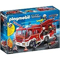 PLAYMOBIL City Action Camión de Bomberos con Luces