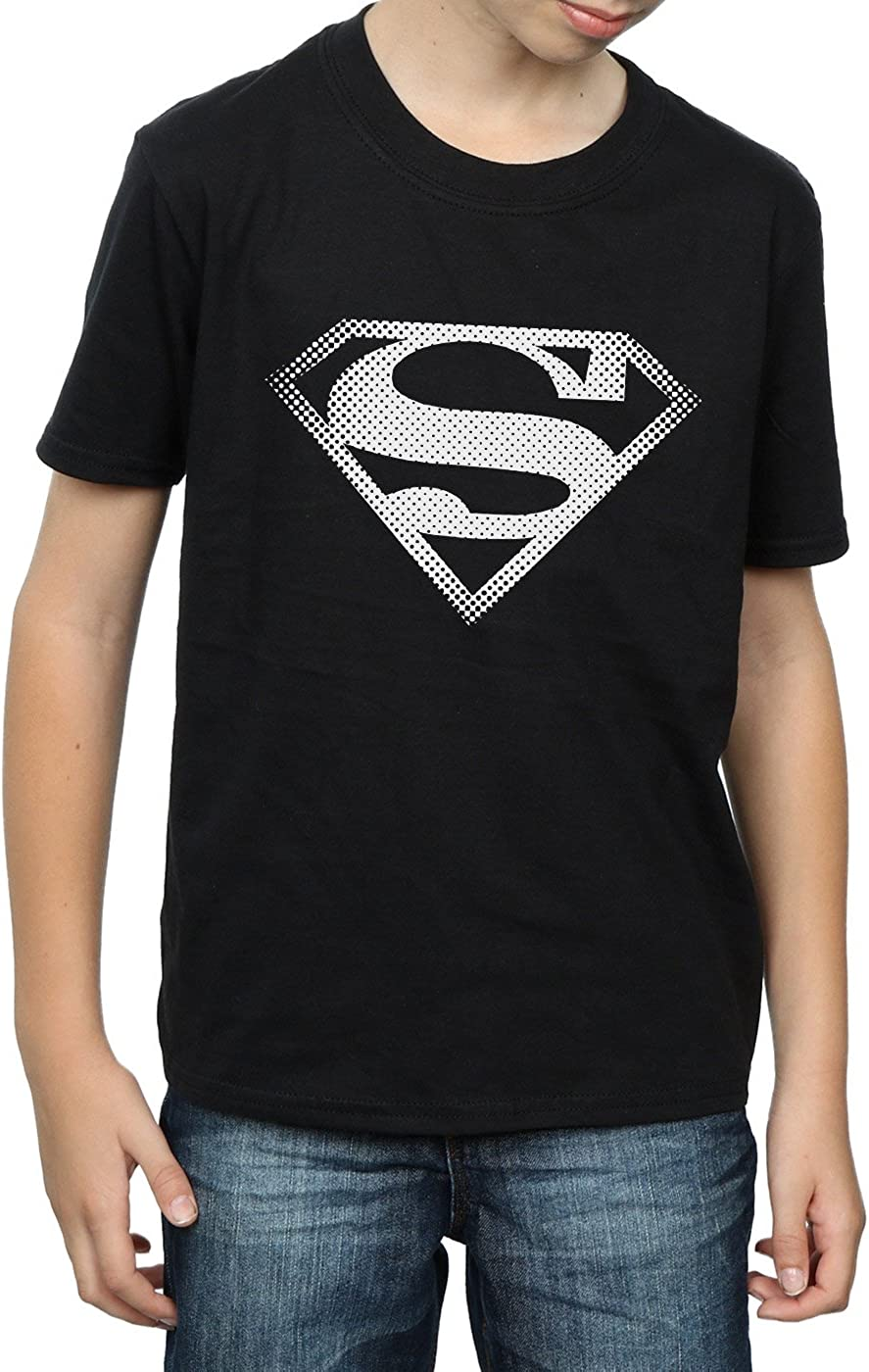 DC Comics Boys Superman Spot Logo T-Shirt