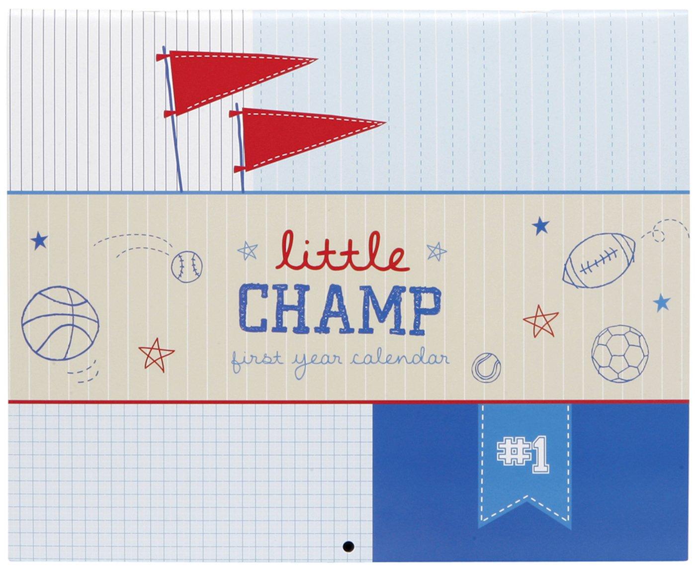 Baby's First Year Calendar - Little Champ C.R. Gibson BA3-11184