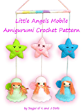 Little Angels Mobile Amigurumi Crochet Pattern (English Edition)
