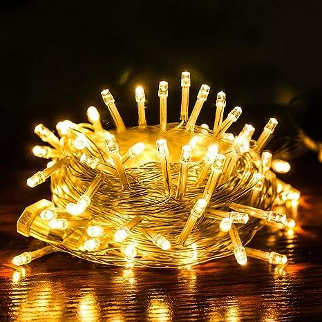 JUNMAONO Christmas Decoración, Iluminación de Navidad, Guirnalda Luces Navidad, Luces Arbol Aavidad, Navidad Decoraciones, Adornos Navideños, Para ...