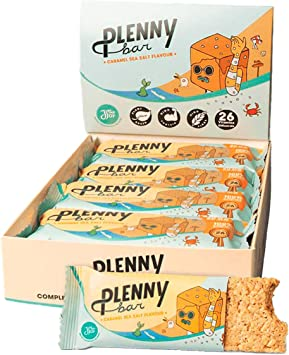 Jimmy Joy Caramel Seasalt Plenny Bar, 24 Barras x 400 kcal ...