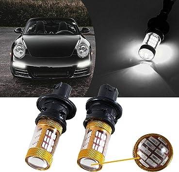 Vauxhall Astra MK5//H White 4-LED Xenon ICE Side Light Beam Bulbs Pair Upgrade