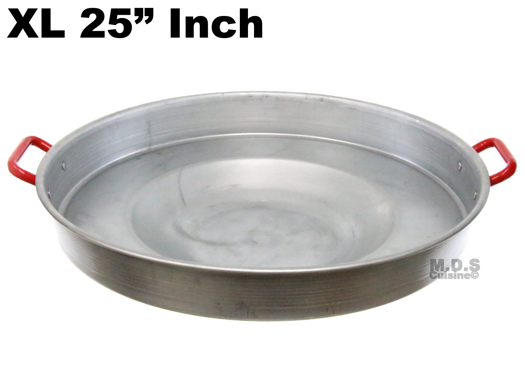 Comal 25'' Concave Round Heavy Duty Traditional Durable Outdoors Stir Fry Para Freir Cazo