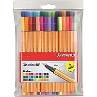 Point 88 Fineliner Pens 0.4m 30 color wallet set (2-Pack)