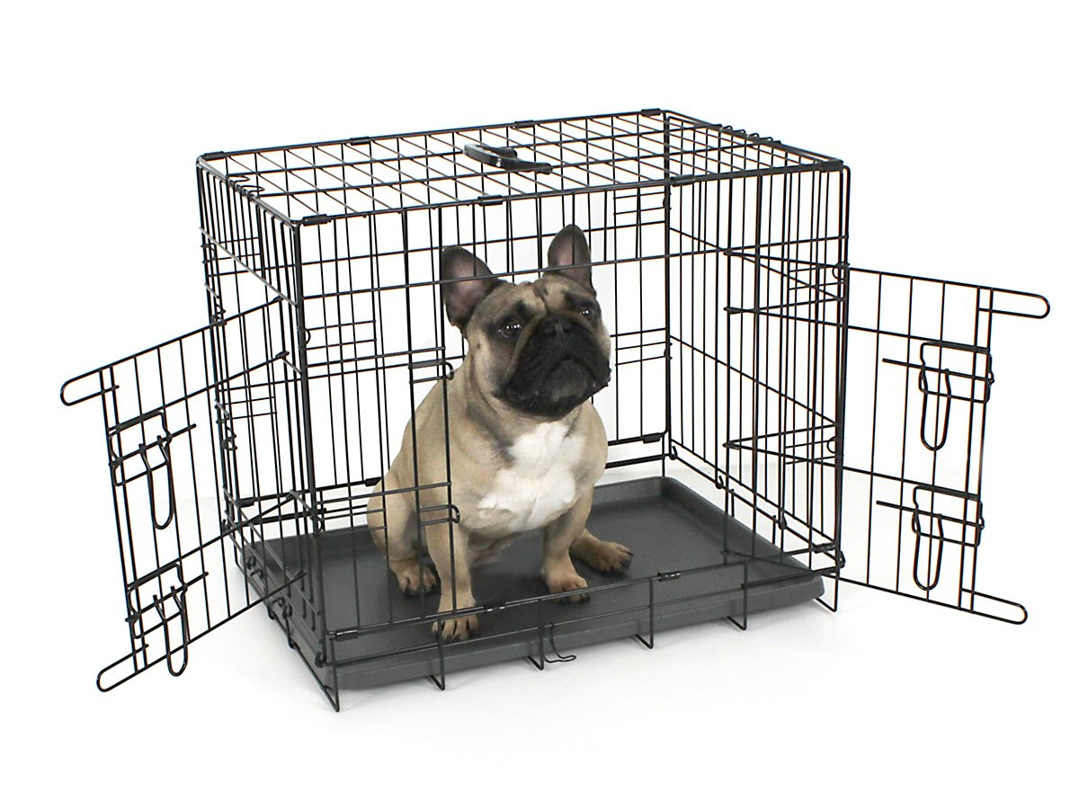 Omlet Fido Classic 24'' Premium Two Door Folding Dog and Puppy Crate