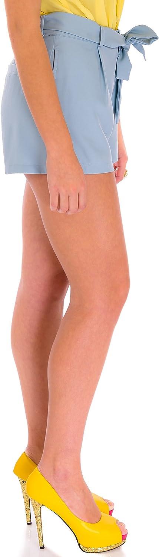 Excelente Pantalon Corto para Mujer con Bolsillos /ÇA VA BIEN FASHION Elegantes Paperbag Shorts con Cintur/ón Shorts Pantalones Cortos Mujer Verano