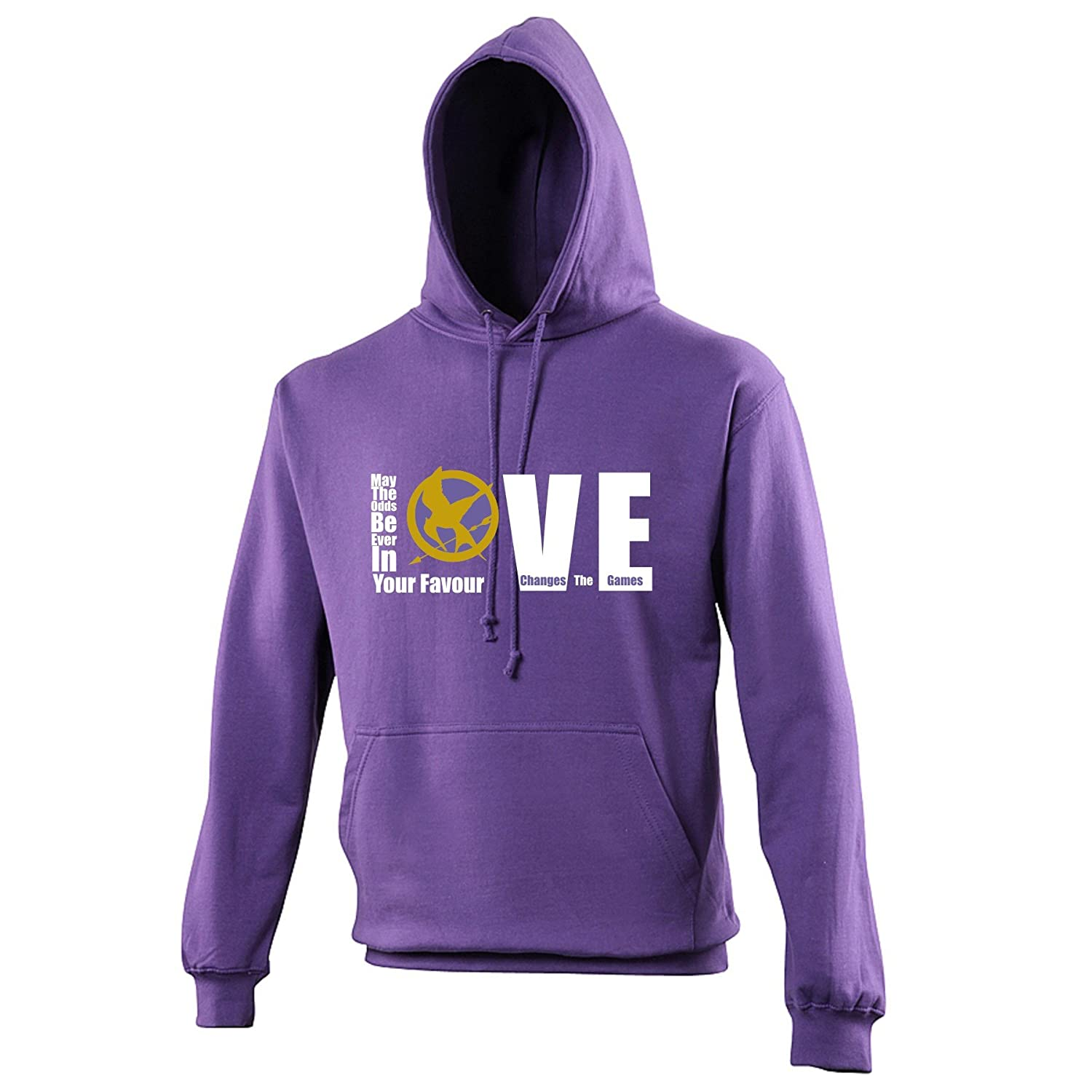 Love Changes The Games - May The Odds Be Ever In Your Favour - The Hunger  Games Hoodie