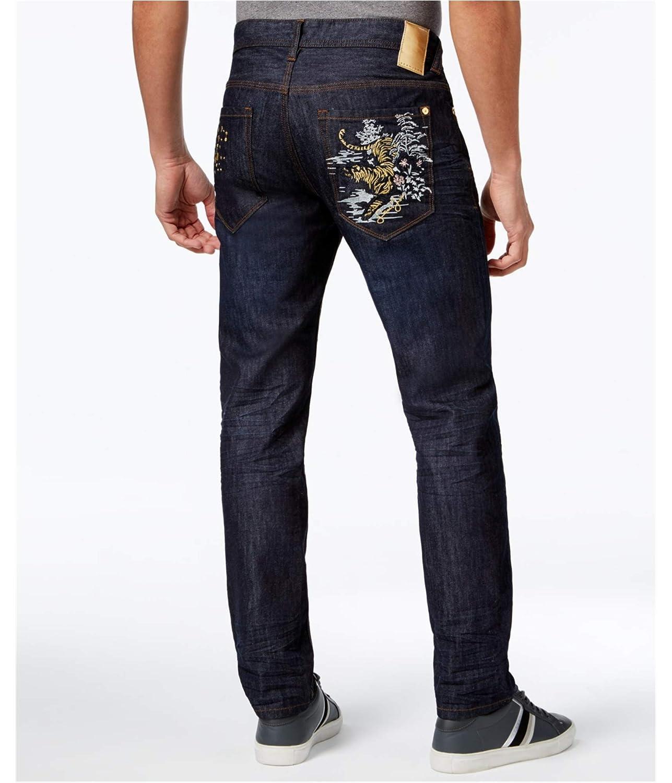 Sean John Mens Mercer Slim Fit Jeans