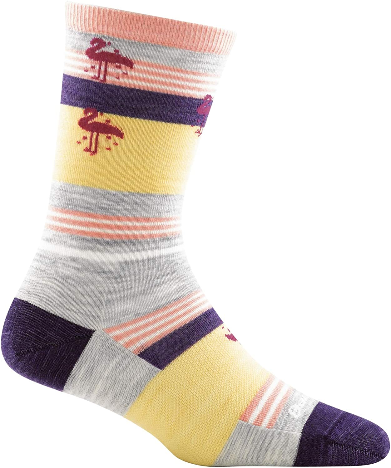 Womens Darn Tough South Beach Crew Lightweight Sock