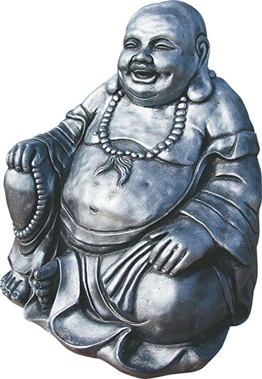 AnaParra Figura Buda del Dinero para el jardín Decorativa 38cm ...