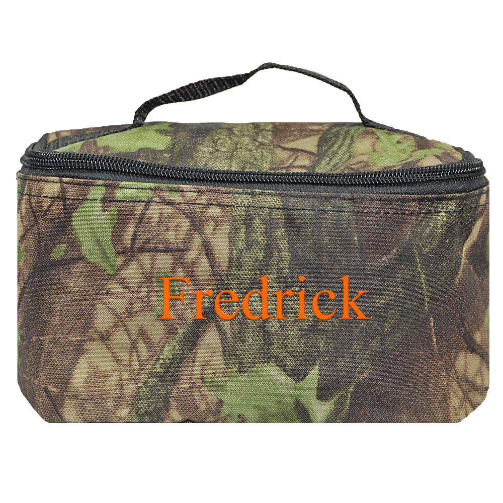 Personalized Small Cosmetic Makup Bags for the Girl on the Go (Camo)