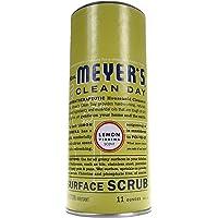 Mrs. Meyer's Clean Day Surface Scrub, Lemon Verbena Scent, 11 ounce bottle