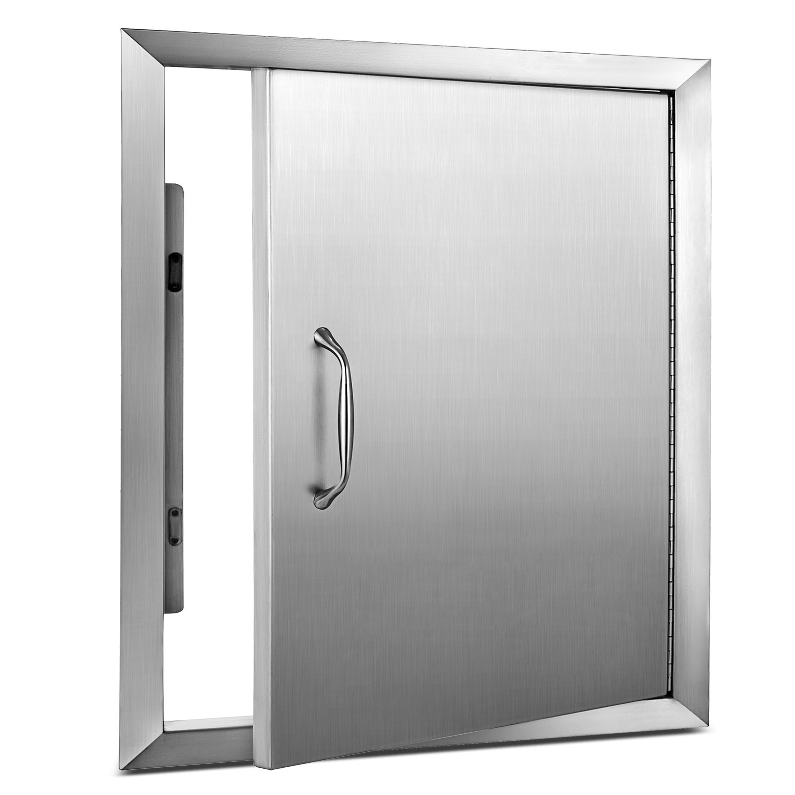 """Happybuy BBQ Access Door 18""""x 20"""" BBQ Island Single Door Stainless steel for Outdoor Kitchen Grilling Station or Commercial BBQ Island"""