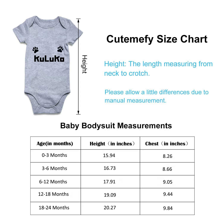 Dream-R Oh for Fox Sake Newborn Babys Boys /& Girls Short Sleeve Romper Bodysuit Outfits for 0-24 Months Black