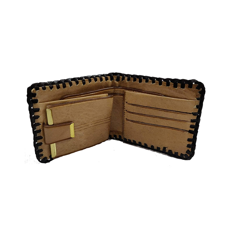 Mexican Style Wallet Cartera de Pelo Orleada Caballo