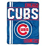 MLB Chicago Cubs Super Plush Throw Blanket