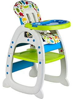 Yellow BabyToddler Infant Highchair Baby hugs Feeding Dining Chair with Tray