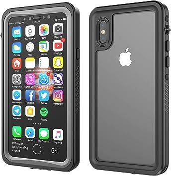 Funda Impermeable iPhone X, IP68 Waterproof Cover a prueba de ...