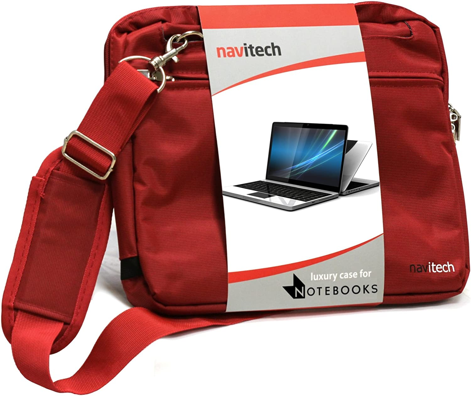 Navitech Red 11.6-Inch Laptop/Notebook/Ultrabook Case/Bag Compatible with The Acer C720 Chromebook/Acer C7 Chromebook/Samsung Chromebook/HP Chromebook 11