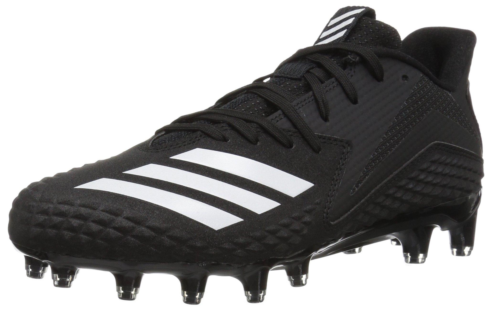 adidas Men's Freak x Carbon Football Shoe, Black/White/Black, 12 M US by adidas