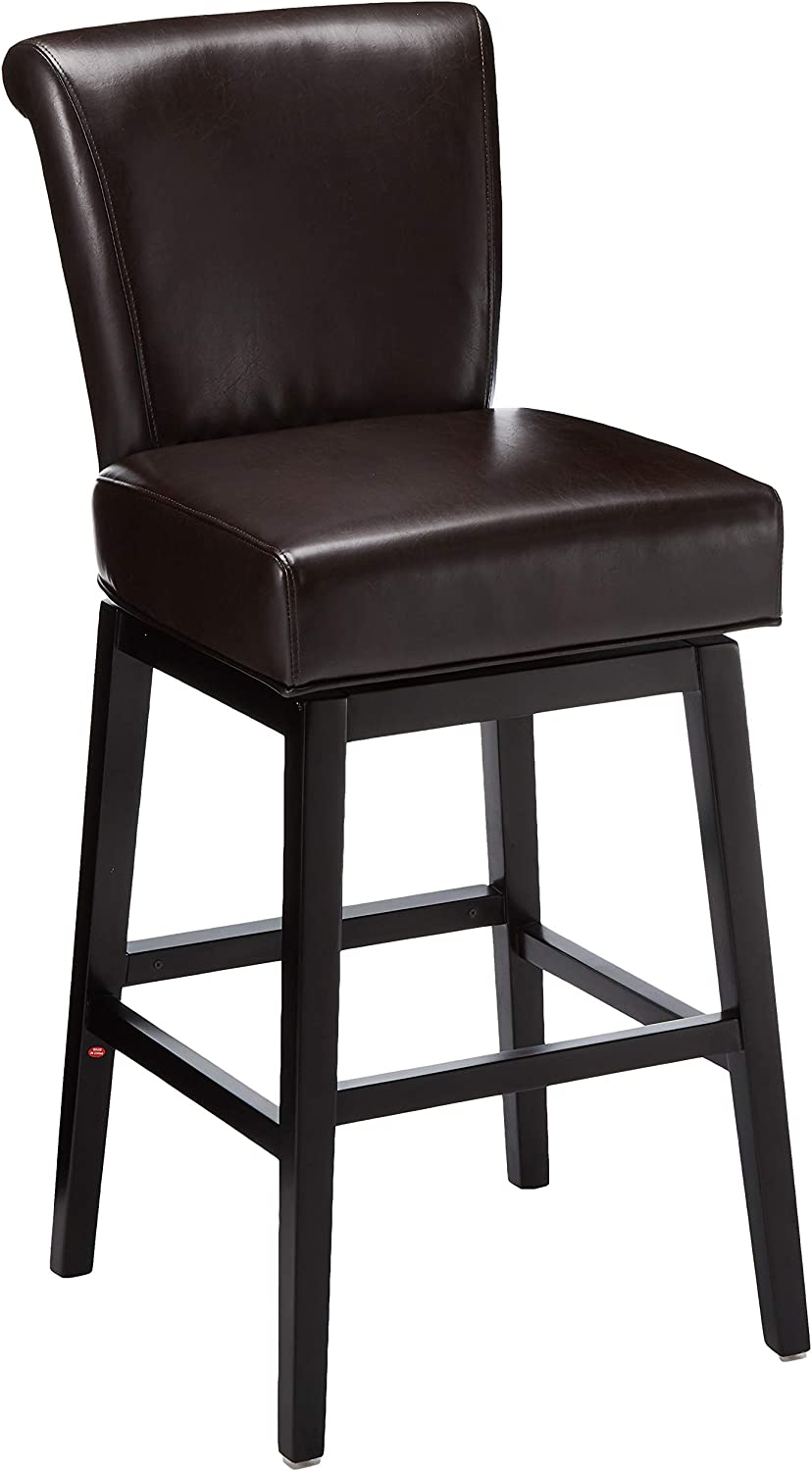 Christopher Knight Home Tracy Swivel Barstool Brown Furniture Decor