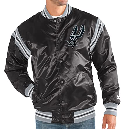 Image Unavailable. Image not available for. Color  STARTER San Antonio  Spurs NBA Men s The Enforcer Premium Satin Jacket 651f0d55a