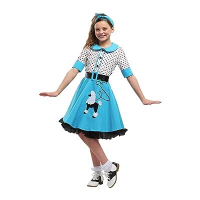 Sock Hop Cutie Girls Costume: Clothing